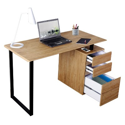 computer desk with storage and file cabinet wood techni mobili rh target com small computer desk with file cabinet small computer desk with file cabinet