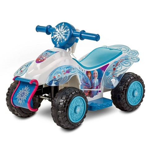 Kid Trax 6V Disney Frozen 2 Sing and Ride Powered Ride-On - Blue - image 1 of 4