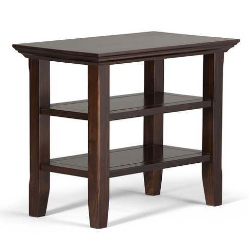 Acadian Narrow Side Table - Tobacco Brown - Simpli Home - image 1 of 6