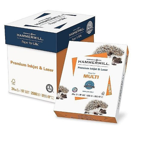 Hammermill Premium Inkjet & Laser 8.5  x 11 923542 - image 1 of 3