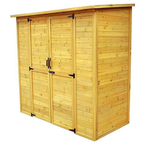 Extra large Storage Shed - Brown - Leisure Season - image 1 of 4