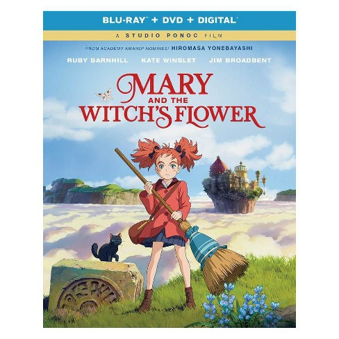 Mary and the Witch's Flower (Blu-ray + DVD + Digital) - image 1 of 1
