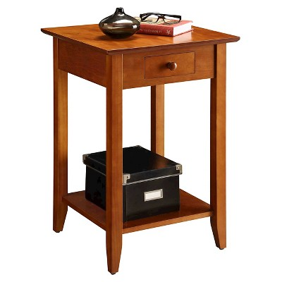Charmant American Heritage End Table   Cherry (Medium)   Convenience Concepts