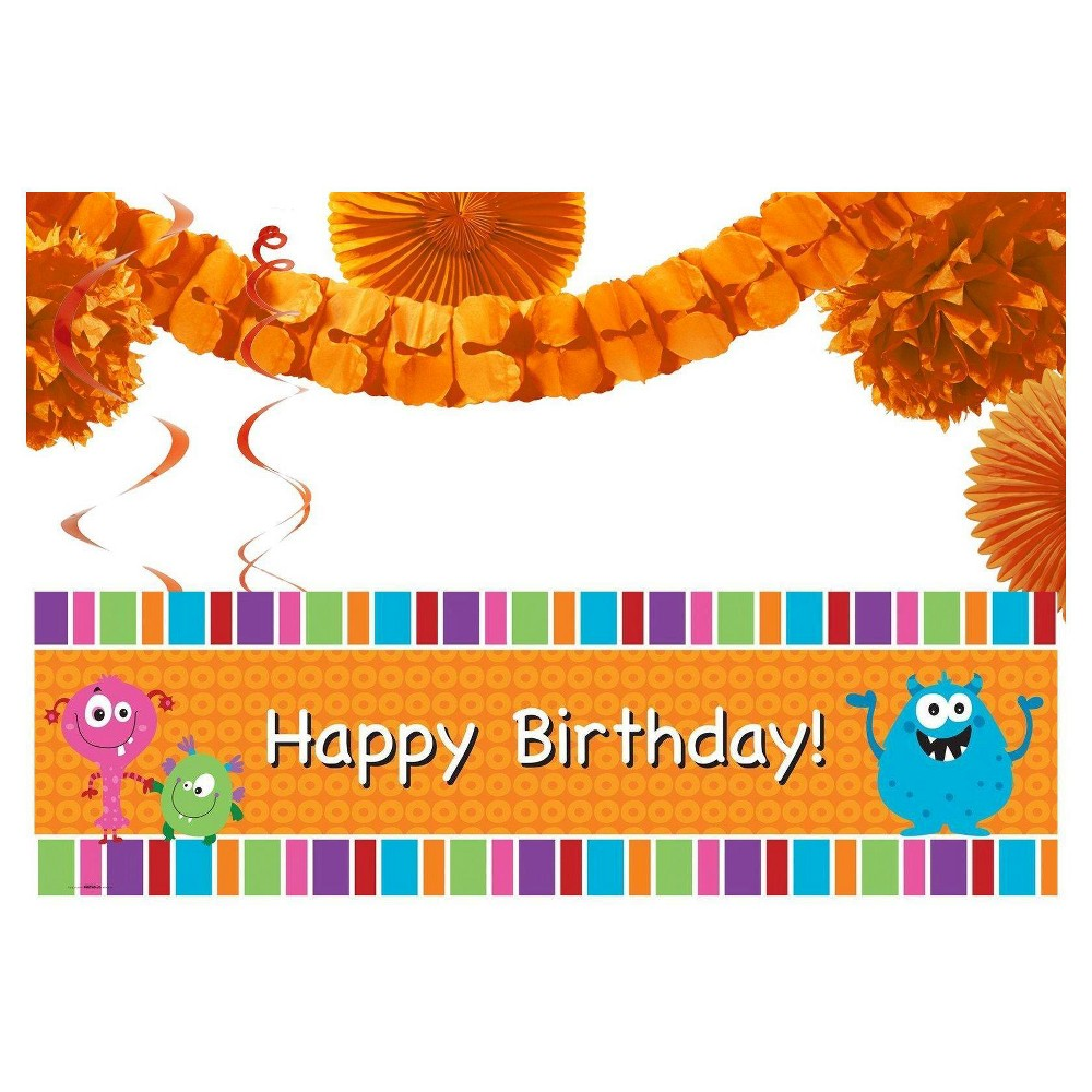 Monsters Decoration Kit, Party Kits