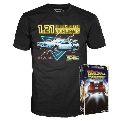 Funko VHS Packaged T-Shirt : Back to the Future - Black XL - image 1 of 1