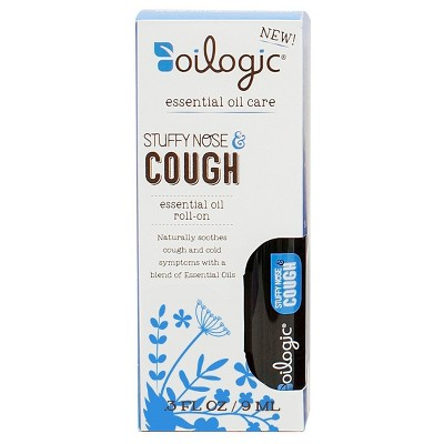 Oilogic Suffy Nose & Cough Essential Oil Roll-On - 0.30oz