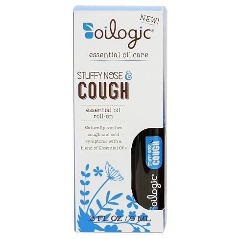 Oilogic Suffy Nose & Cough Essential Oil Roll-On - 0.30oz - image 1 of 3