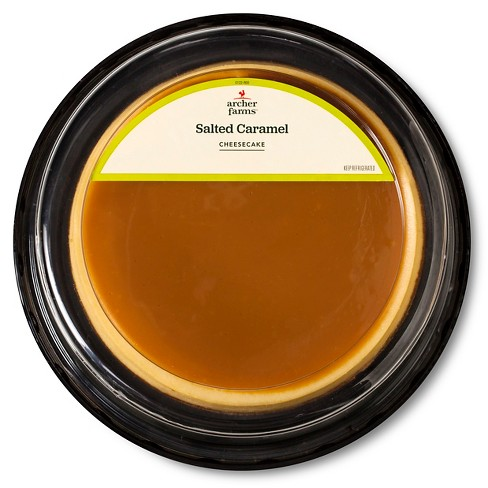 "Salted Caramel Cheesecake 7"" - Archer Farms ™ - image 1 of 1"