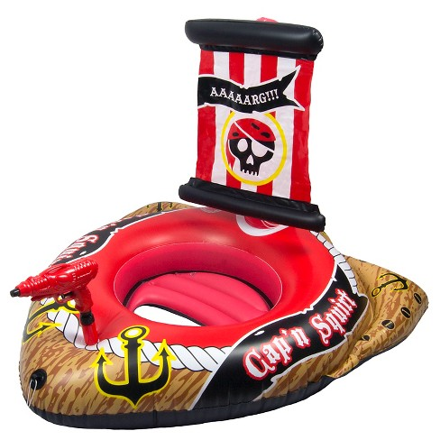 Poolmaster Pirate Ship with Action Squirter Pool Float - image 1 of 4