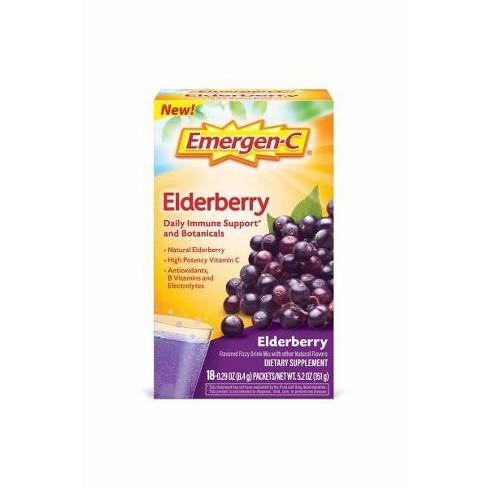 Emergen-C Core Elderberry Powder - 18ct - image 1 of 3