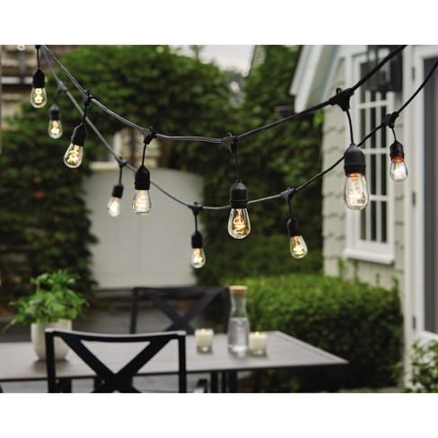 10ct Heavy-Duty Drop Outdoor String Lights - Threshold™