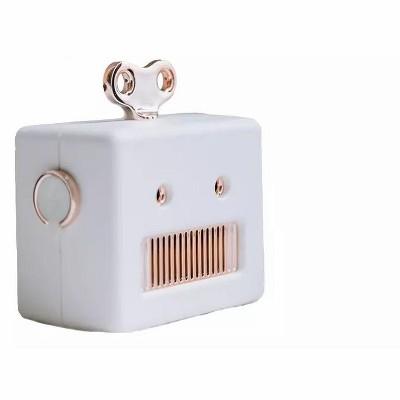 Link Mini Retro Cartoon Robot Portable Outdoor Wireless Bluetooth Speaker Super Bass With Microphone