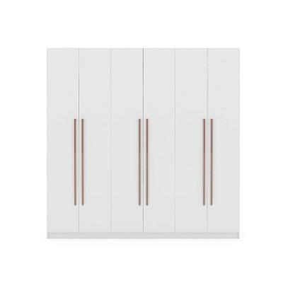 Gramercy Wardrobe Armoire Closet  - Manhattan Comfort