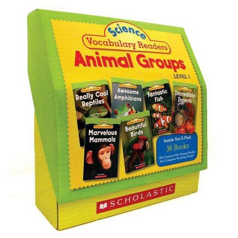 Science Vocabulary Readers Set: Animal Groups - by  Liza Charlesworth (Paperback) - image 1 of 1