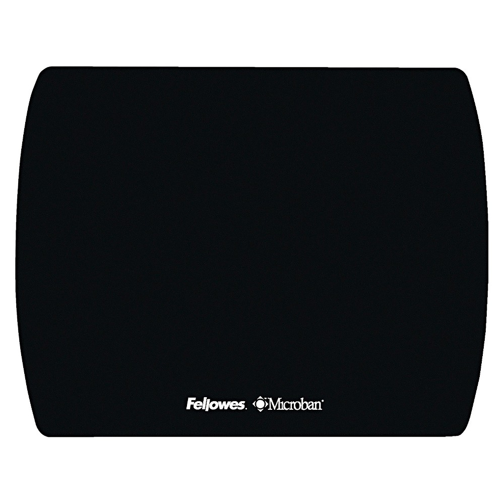 Image of Fellowes Microban Ultra Thin Mouse Pad - Black