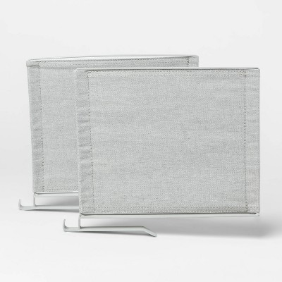 Recycled fabric Shelf Divider with Metal frame Gray - Made By Design™