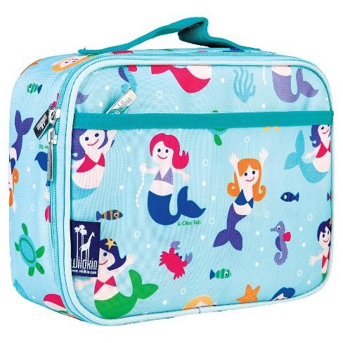 Wildkin Olive Kids' Lunch Box - Mermaids - image 1 of 1