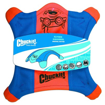 Chuckit! Flying Squirrel Pet Toy - Blue - M