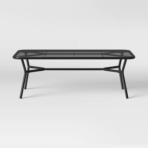 Bangor Patio Coffee Table - Black - Project 62™ - image 1 of 2