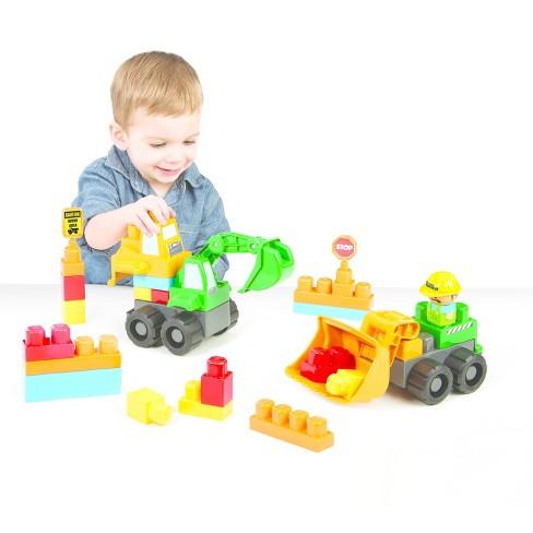 Kids Work Tonka Tuff Construction Site Play Set 25pc - Loader ... 48cafbe58197