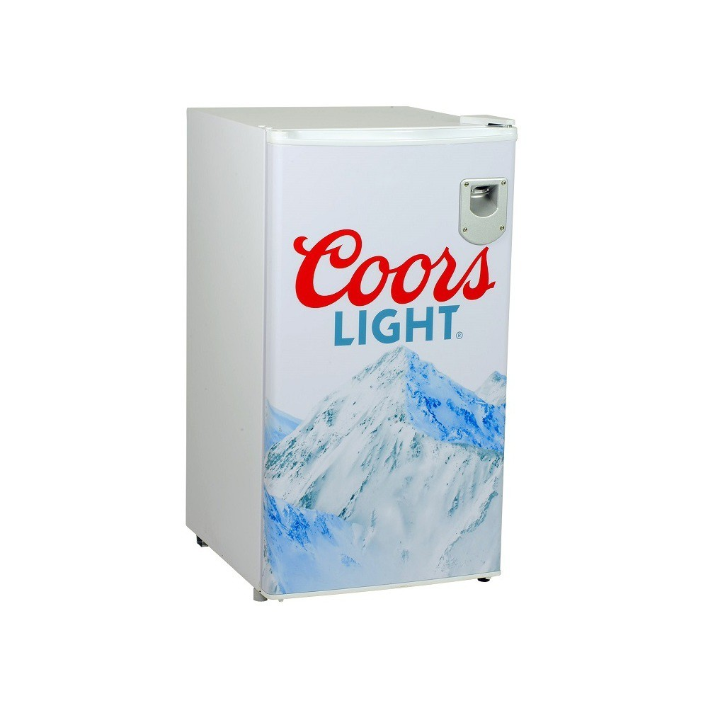 Image of Coors Light 3.3 cu ft Compact Beer Refrigerator White CL90