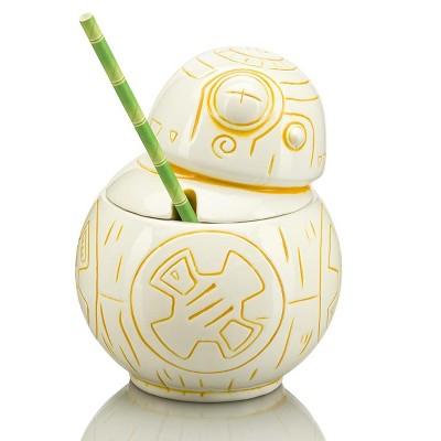 Beeline Creative Geeki Tikis Star Wars BB-8 Mug   Ceramic Tiki Style Cup   Holds 20 Ounces