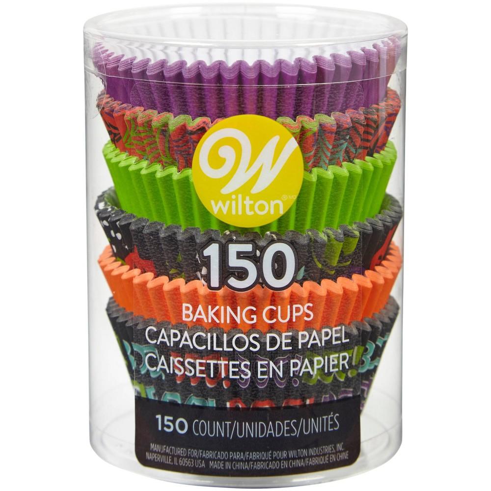 Image of Wilton 150ct Paper Happy Halloween Standard Cupcake Liners