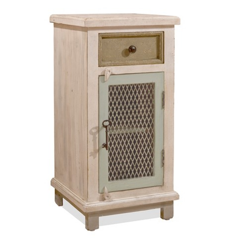 Larose Cabinet - Rustic White/Gray - Hillsdale Furniture - image 1 of 2