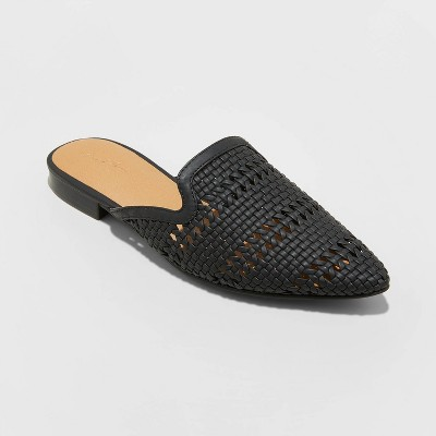 Women's Whisper Woven Mules - Universal Thread™