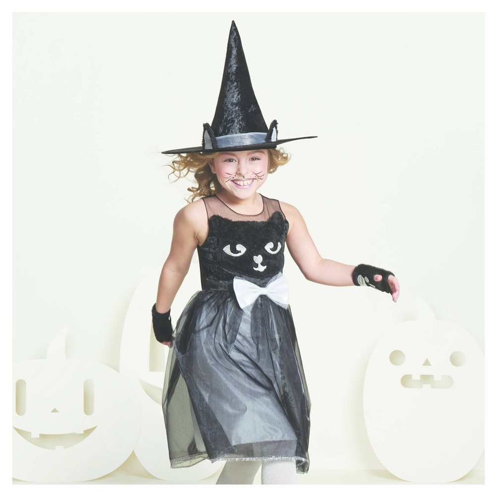 Girls 39 Kitty Cat Witch Costume L 10 12 Hyde 38 Eek Boutique 8482