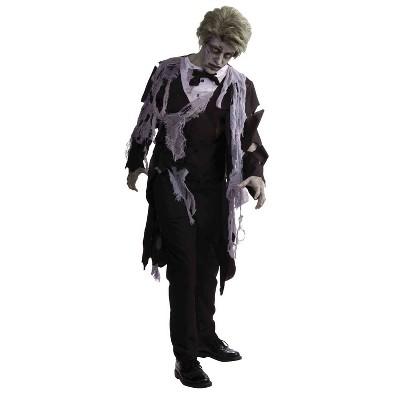 Adult Zombie Tuxedo Halloween Costume L/XL