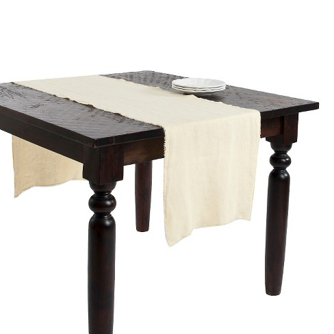 Fringed Design Stone Washed Table Runner - image 1 of 1