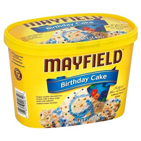 Mayfield Birthday Cake Ice Cream