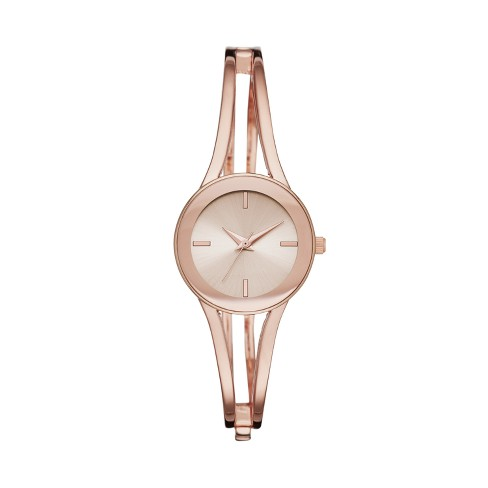 Women's Half Bangle Watch - A New Day™ Rose Gold - image 1 of 1