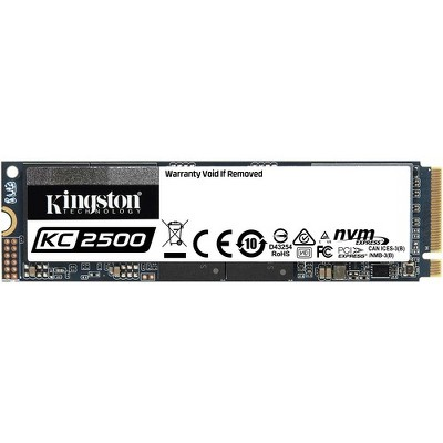 Kingston KC2500 250 GB Solid State Drive - M.2 2280 Internal - PCI Express NVMe (PCI Express NVMe 3.0 x4) - Desktop PC, Workstation Device Supported