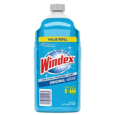 Windex Original Glass Cleaner Refill 67.6oz (2 Liter) - image 1 of 4