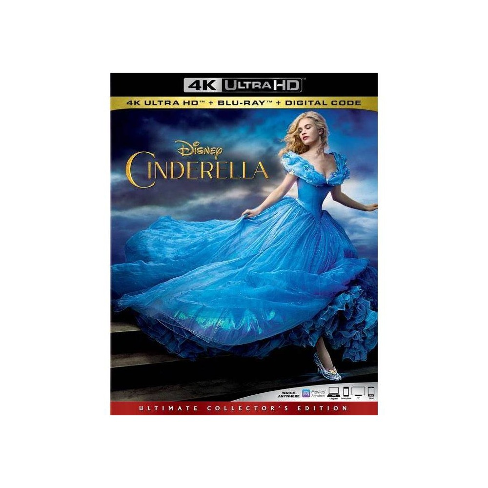 Cinderella Live Action (4K/UHD) was $29.99 now $20.0 (33.0% off)