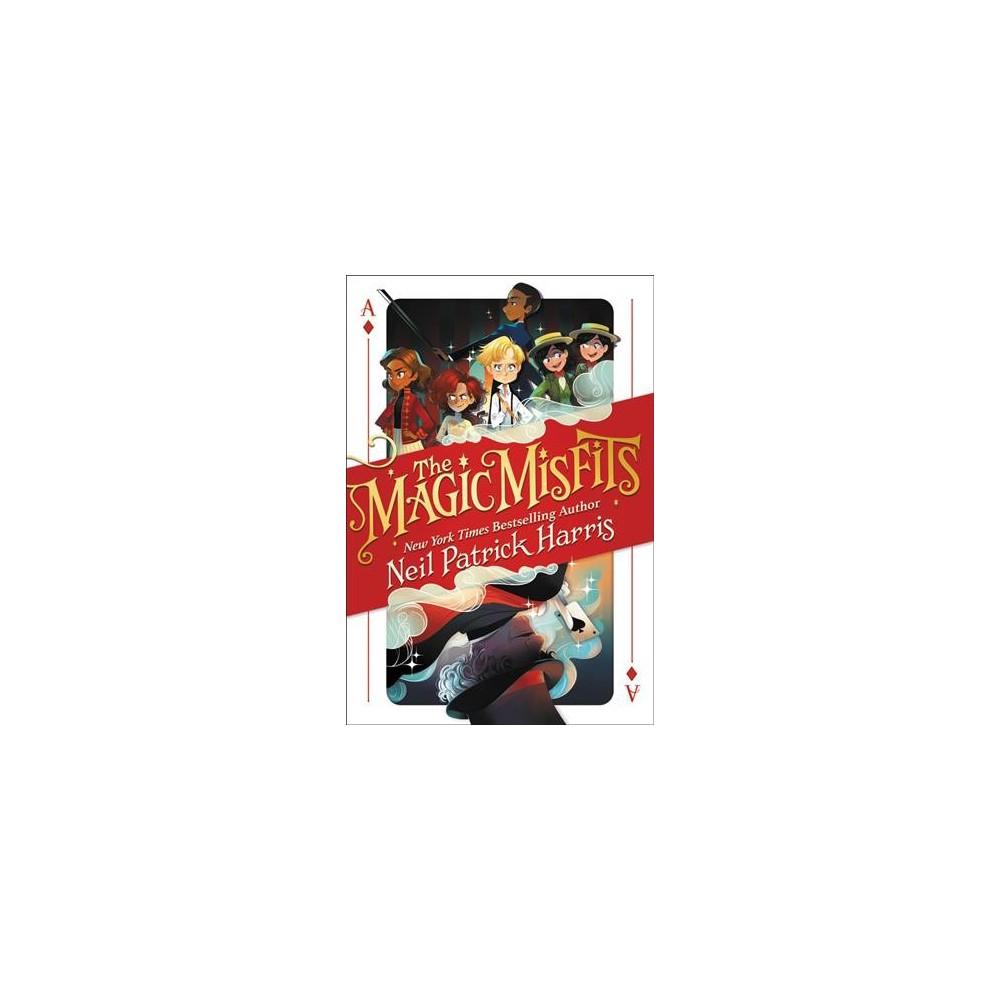 Magic Misfits - Large Print (Magic Misfits) by Neil Patrick Harris & Alec Azam (Hardcover)