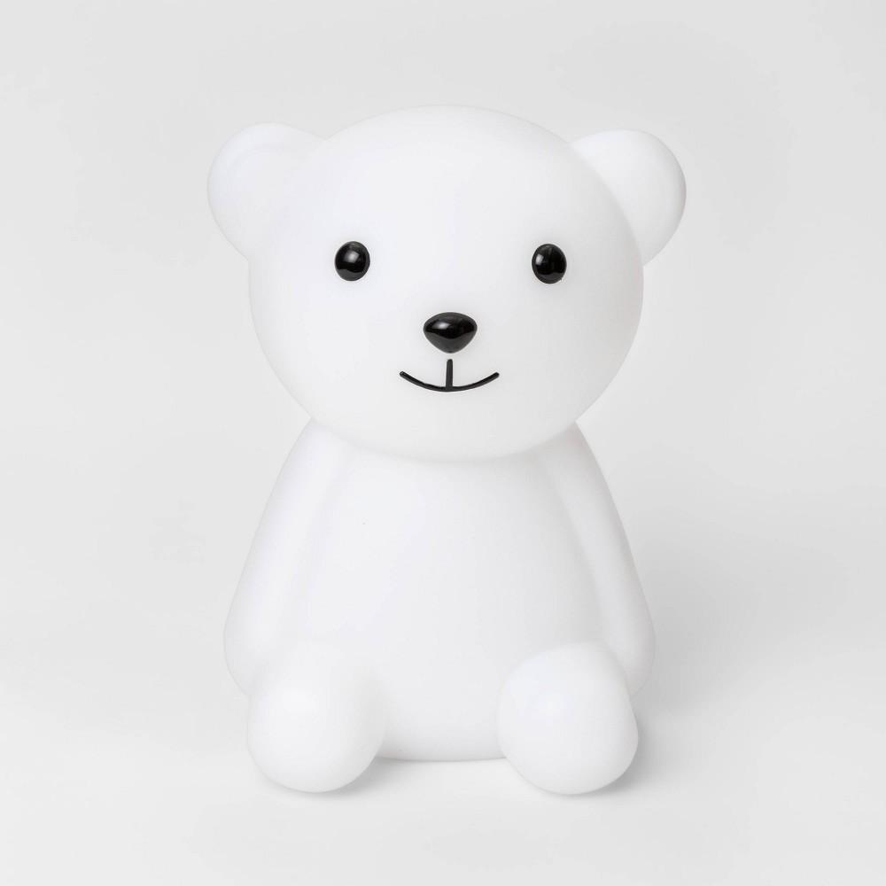 Image of Bear Nightlight White/Black (Includes Energy Efficient Light Bulb) - Pillowfort