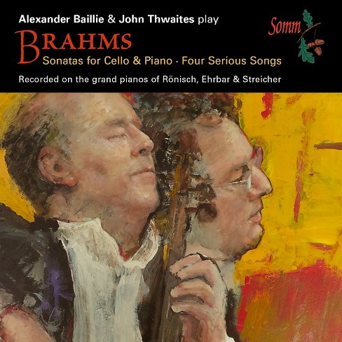 Alexander baillie - Brahms:Sonatas for cello & piano (CD) - image 1 of 1