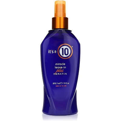 It's a 10 Miracle Leave-in Conditioner + Keratin - 10 fl oz
