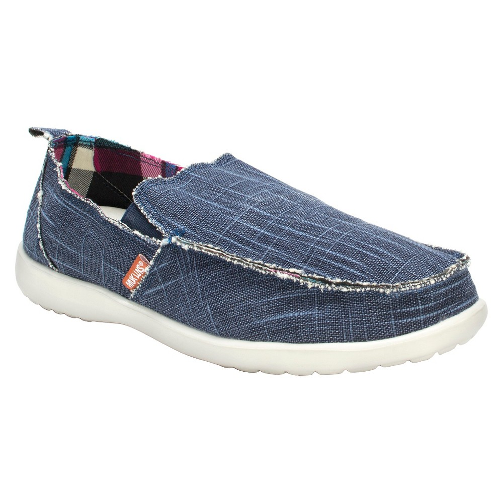 Men's Muk Luks Andy Sneakers - Navy (Blue) 10
