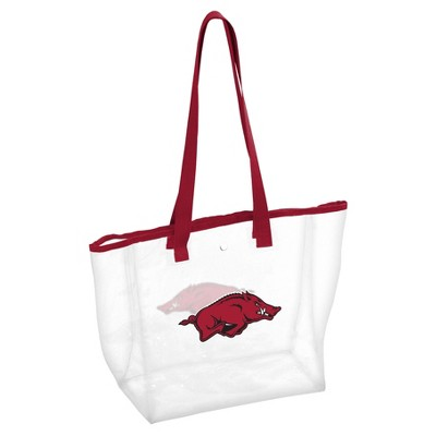 NCAA Logo Brands PVC Stadium Tote Bag