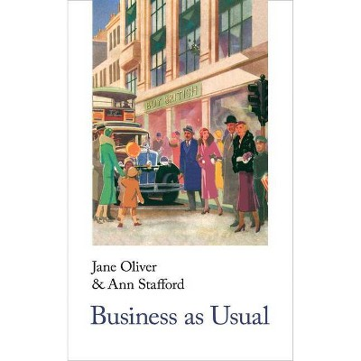 Business as Usual - (Handheld Classics) by  Jane Oliver (Paperback)