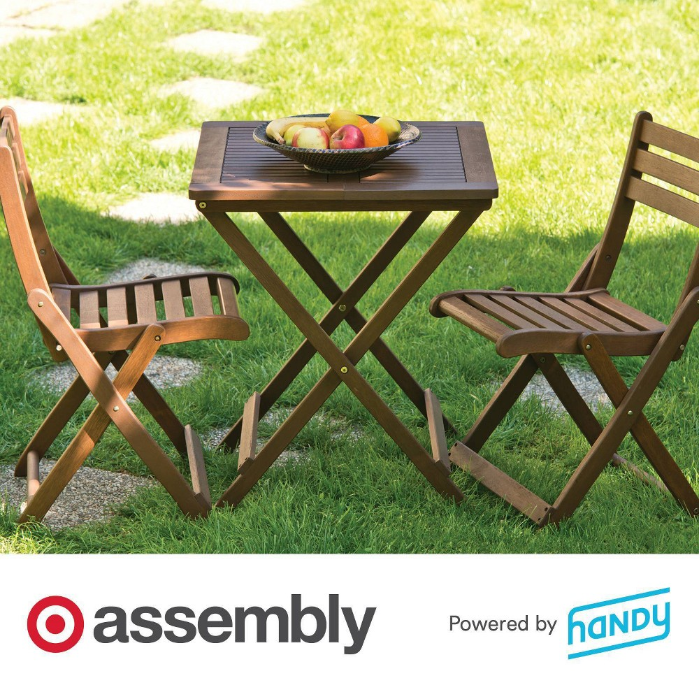 Folding Table Assembly Powered By Handy