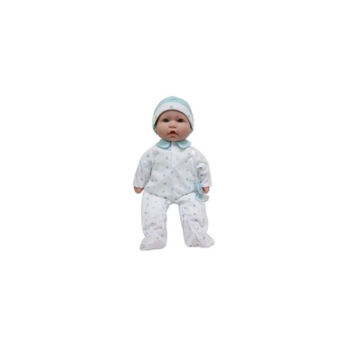 """JC Toys La Baby 16"""" Baby Doll - Blue Outfit with Pacifier - image 1 of 3"""