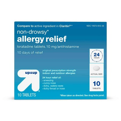 up & up Non-Drowsy Allergy Relief (Compare to Claritin)