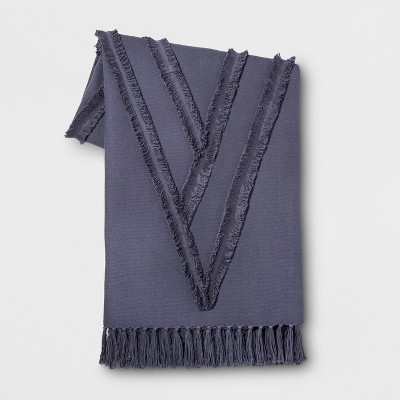 Indigo Moroccan Wedding Oversized End of Bed Throw - Opalhouse™