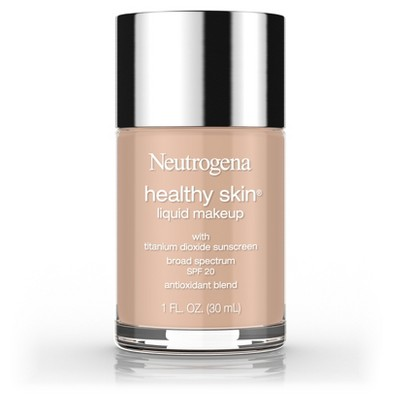 Neutrogena Healthy Skin Liquid Makeup Foundation Broad Spectrum Spf 20 90 Warm Beige -1oz