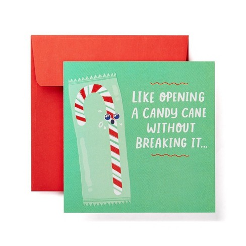 """Candy Cane"" Print Card - image 1 of 6"